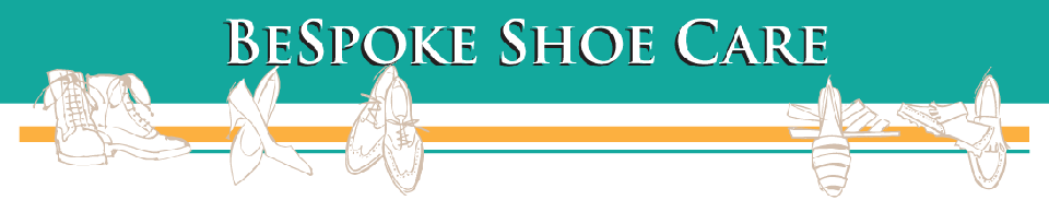 Shoe Repair Services Top Page Header